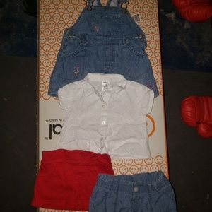 (Bundle) Baby girl Outfit